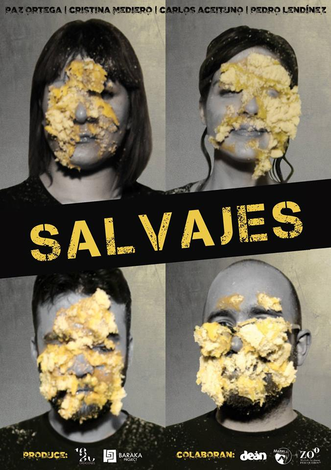 cartel SALVAJES