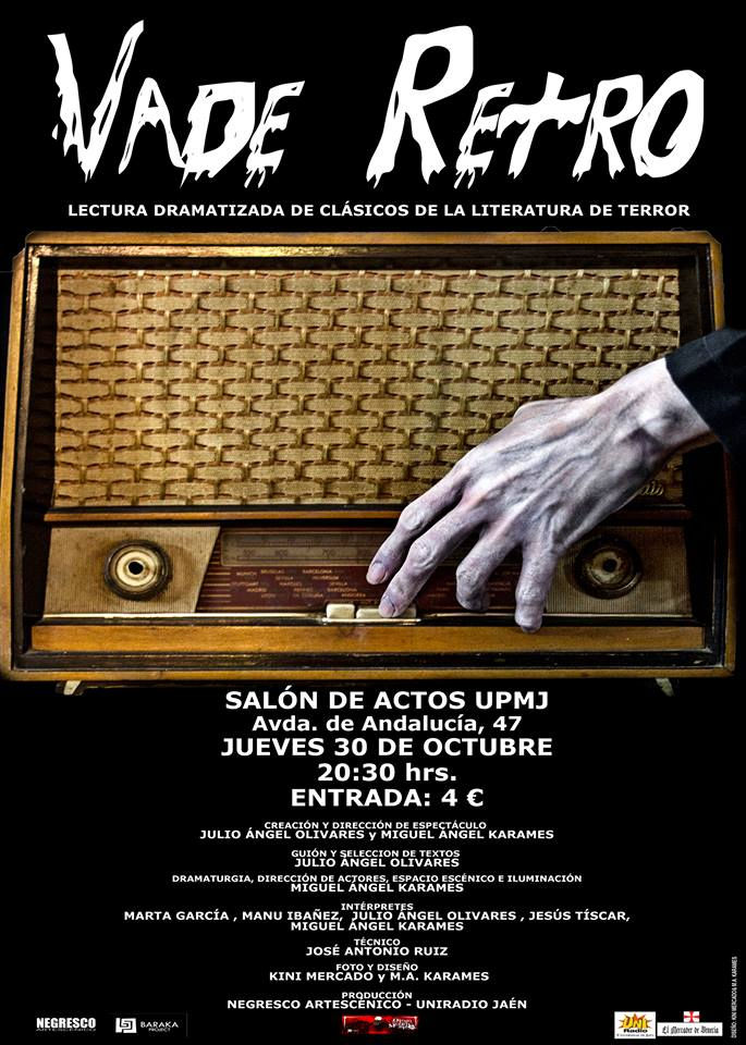 cartel VADE RETRO