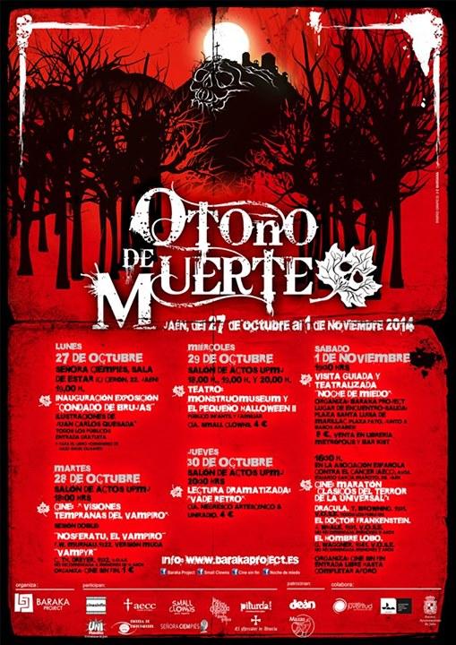 cartel otoño muerte