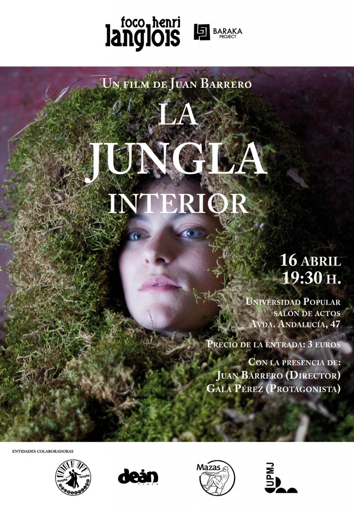 Cartel La jungla interior, 16 de abril