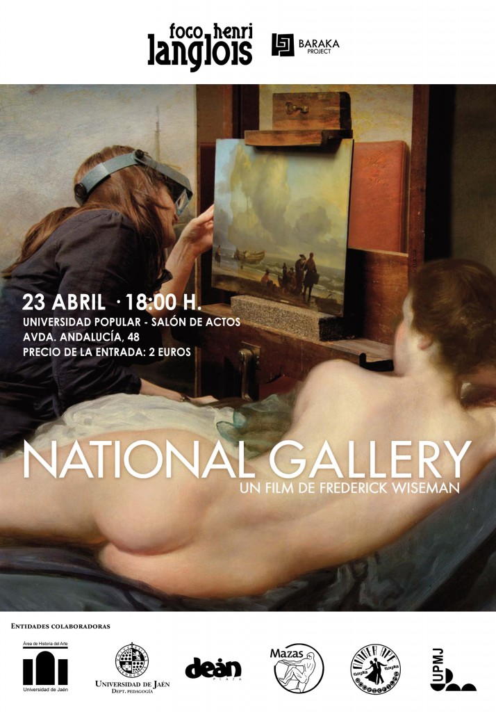 Cartel National Gallery, 23 de abril
