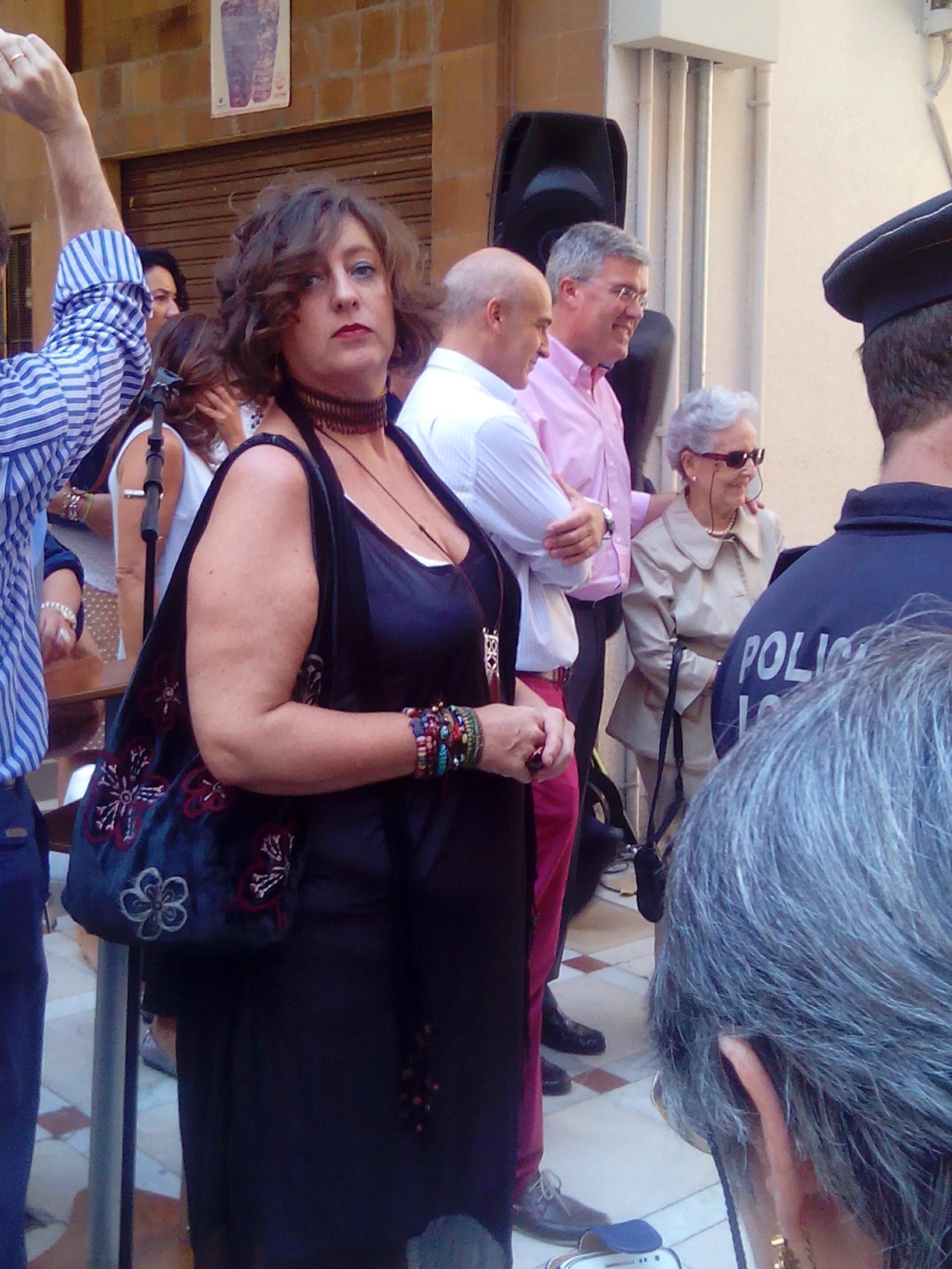 Acto de inauguración de placa conmemorativa visita de Cristóbal Colón a Jaén